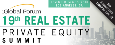 19th Real Estate Private Equity Summit: West 14 & 15 November