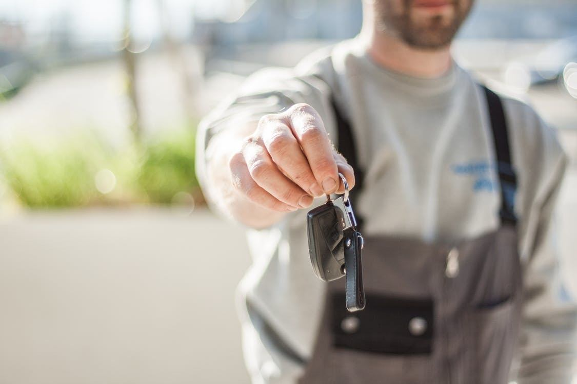 An investor hands over keys to a distressed asset as part of an assignment for the benefit of creditors, or ABC