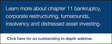 Learn More About Chapter 11 Bankruptcy